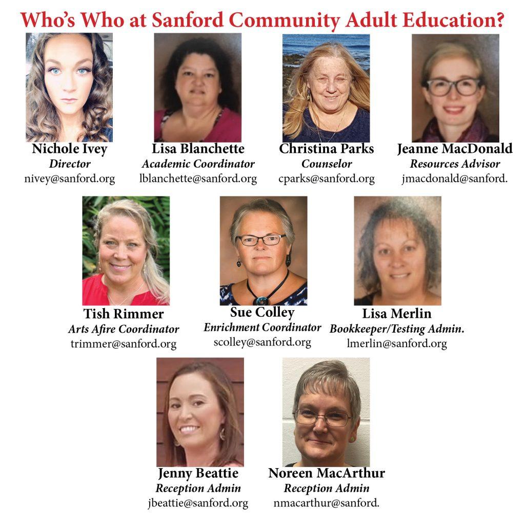 Sanford Community Adult Education image #8698