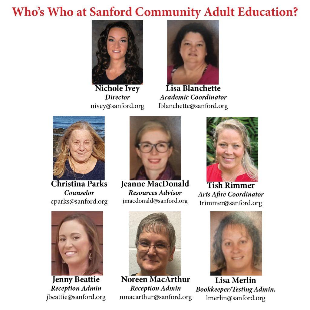 Sanford Community Adult Education image #9407