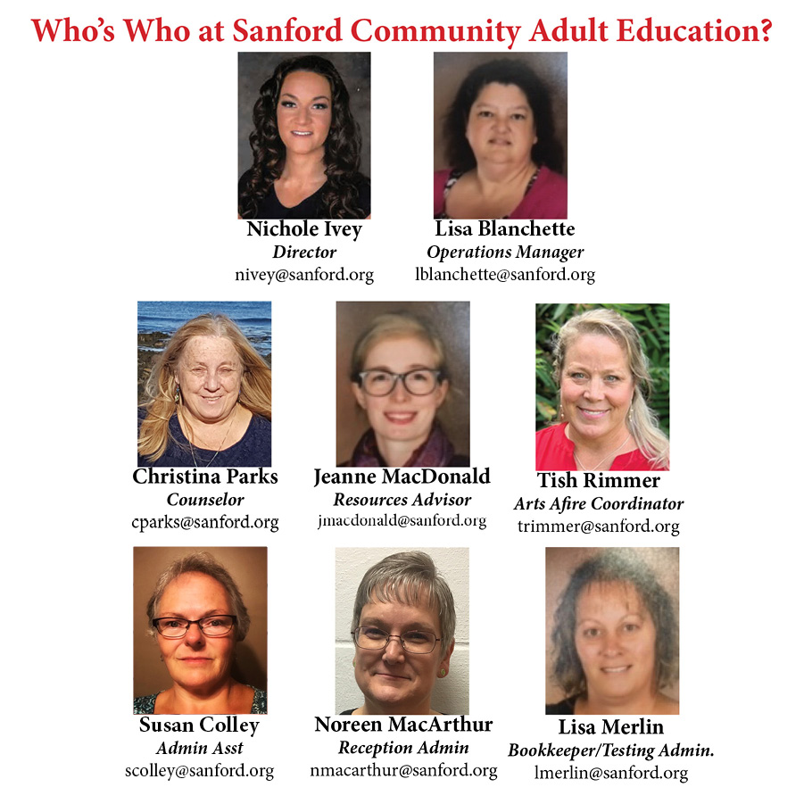Sanford Community Adult Education image #10054